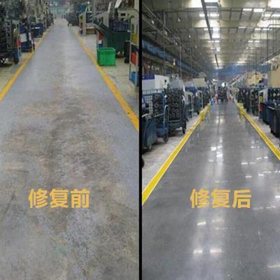 Renovation of old cement floor